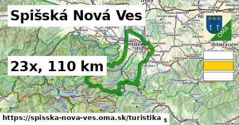 Spišská Nová Ves Turistické trasy