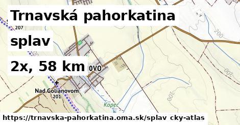 Trnavská pahorkatina Splav