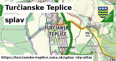 Turčianske Teplice Splav