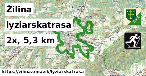 Žilina Lyžiarske trasy