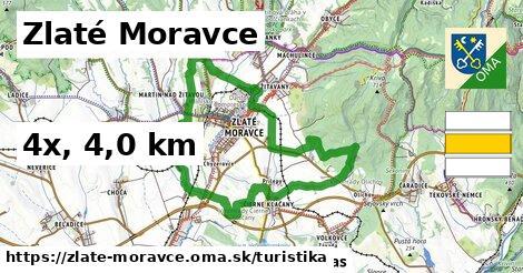 Zlaté Moravce Turistické trasy