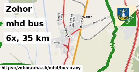 Zohor Doprava bus