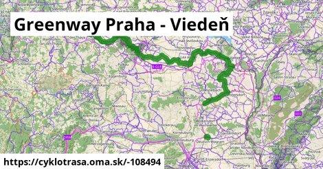 Greenway Praha - Viedeň