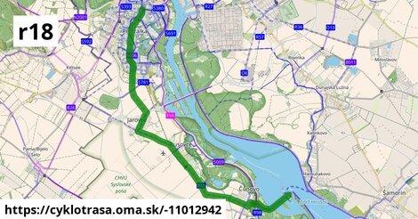 Cyklotrasa R18: Petržalská radiála (plánovaná)