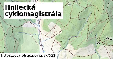ilustračný obrázok k Hnilecká cyklomagistrála