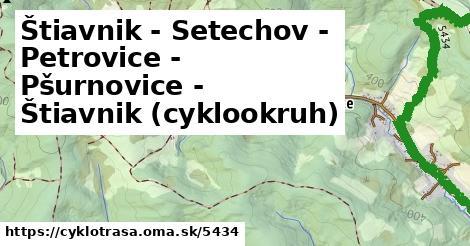 ilustračný obrázok k Štiavnik - Setechov - Petrovice - Pšurnovice - Štiavnik (cyklookruh)