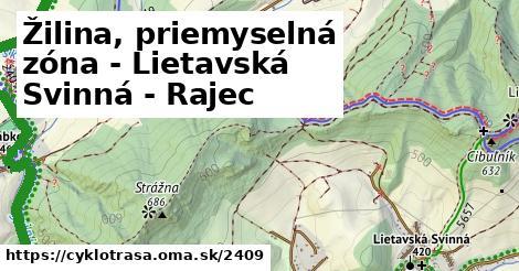 ilustračný obrázok k Žilina, priemyselná zóna - Lietavská Svinná - Rajec