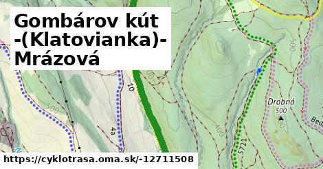 Gombárov kút -(Klatovianka)- Mrázová
