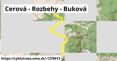 ilustračný obrázok k Buková - Cerová