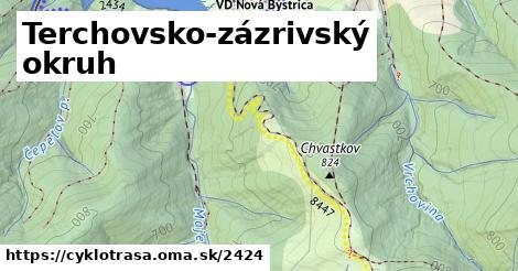 ilustračný obrázok k Terchovsko - Zázrivsko - Kysucká cyklotrasa