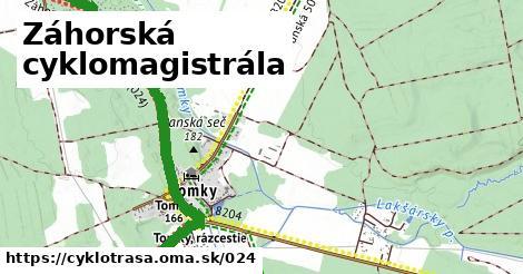 ilustračný obrázok k Záhorská cyklomagistrála