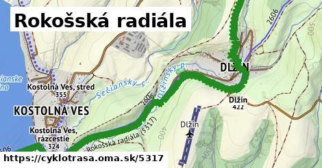 ilustračný obrázok k Rokošská radiála