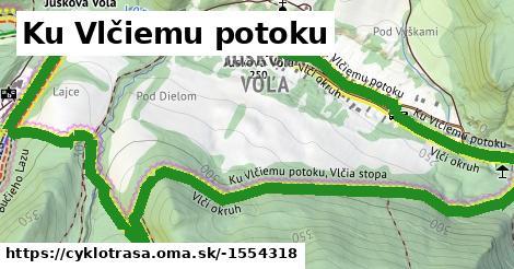 ilustračný obrázok k Ku Vlčiemu potoku