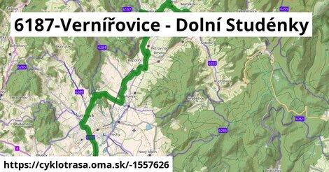 6187 Vernířovice - Velké Losiny - Rudoltice - Šumperk - Dolní Studénky