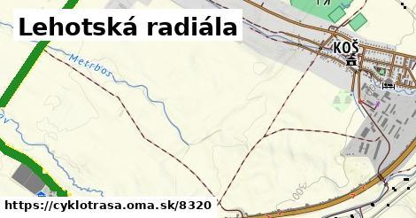 ilustračný obrázok k Lehotská radiála