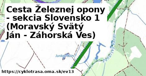 ilustračný obrázok k [EV13] Iron Curtain Trail AT/SK_1 (Cahnov Záhorská Ves)