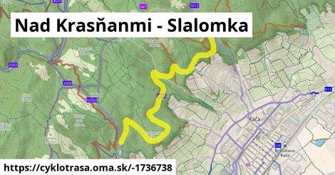 Nad Krasňanmi - Slalomka