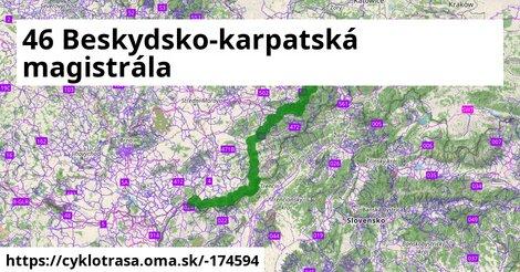 46 Beskydsko-karpatská magistrála