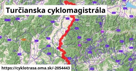 ilustračný obrázok k Turčianska cyklomagistrála