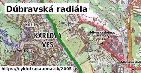 ilustračný obrázok k Dúbravská radiála