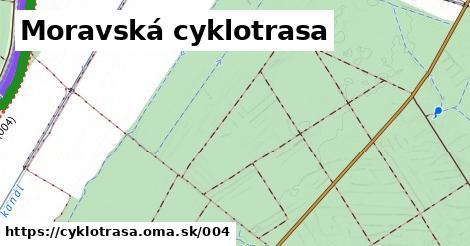 ilustračný obrázok k Moravsko-dunajská cyklistická cesta