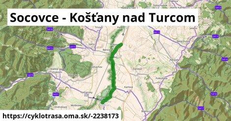 ilustračný obrázok k Socovce - Košťany nad Turcom