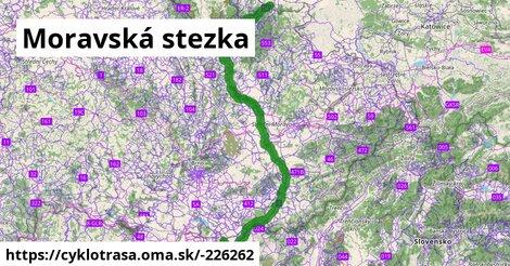 4 Moravská stezka