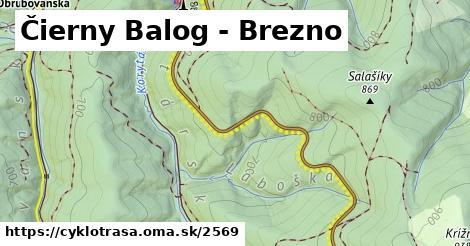 ilustračný obrázok k Čierny Balog - Brezno