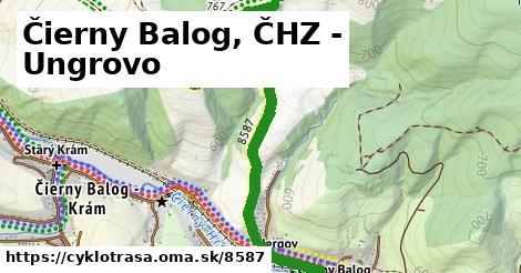 ilustračný obrázok k Čierny Balog, ČHZ - Ungrovo