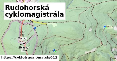 ilustračný obrázok k Rudohorská cyklomagistrála