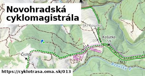ilustračný obrázok k Novohradská cyklomagistrála