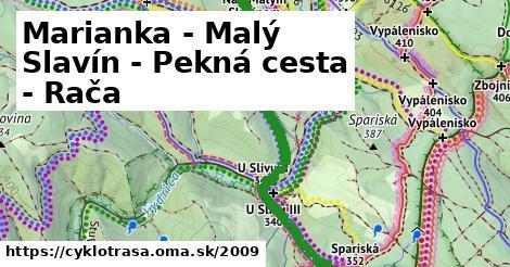 ilustračný obrázok k Marianka - Malý Slavín - Pekná cesta