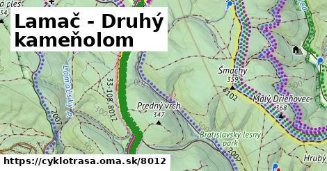 ilustračný obrázok k Lamač - Druhý kameňolom