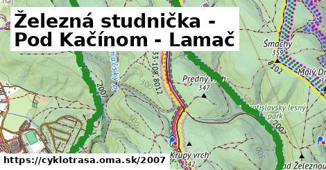 ilustračný obrázok k Železná studienka - Pod Kačínom - Lamač
