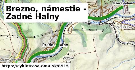 ilustračný obrázok k Brezno, námestie - Zadné Halny