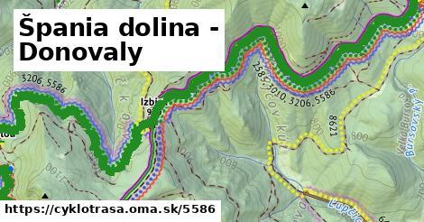 ilustračný obrázok k Špania dolina - Donovaly