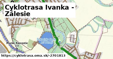 ilustračný obrázok k Cyklotrasa Ivanka - Zálesie