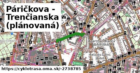 ilustračný obrázok k Páričkova - Trenčianska