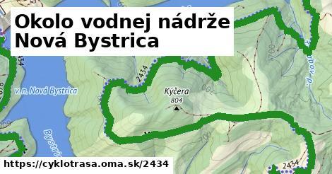ilustračný obrázok k Okolo vodnej nádrže Nová Bystrica