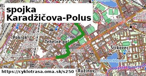 ilustračný obrázok k spojka Karadžičova-Polus