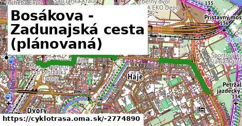 ilustračný obrázok k Bosákova - Zadunajská cesta