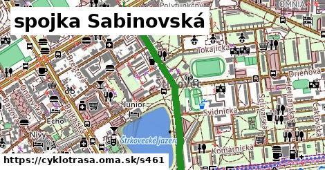 ilustračný obrázok k spojka Sabinovská