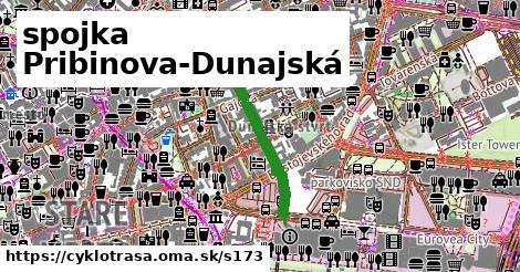 ilustračný obrázok k spojka Pribinova-Dunajská