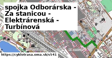 ilustračný obrázok k spojka Odborárska - Za stanicou - Elektrárenská - Turbínová