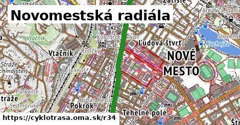 ilustračný obrázok k Novomestská radiála