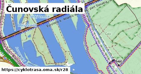 ilustračný obrázok k Čunovská radiála