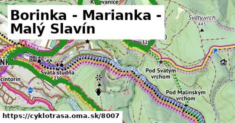 ilustračný obrázok k Malinský vrch - Mariánka - Borinka