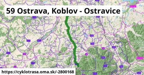 59 Ostrava, Koblov - Ostravice