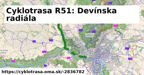 ilustračný obrázok k Cesta na Devín