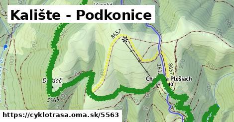 ilustračný obrázok k Kalište - Podkonice